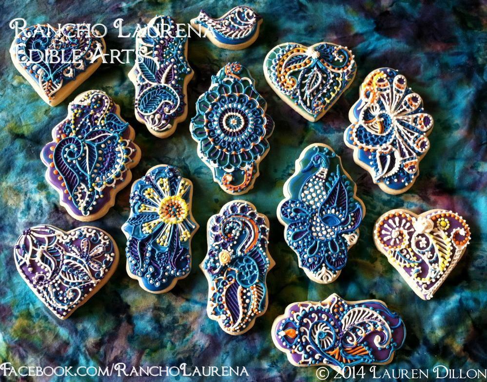 N Mehndi Cake : Mehndi cookies by lauren dorsee dillon plaque pinterest