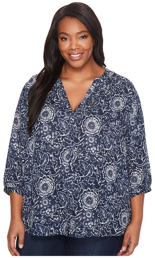 Pintuck Blouse Nydj Size Plus Products Women's aq4wA6