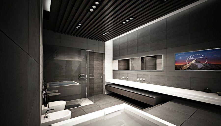 Bagno di lusso moderno 08 | Bagni di design | Pinterest | Design