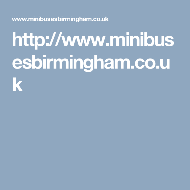 AIM Minibuses Birmingham is a family run business which puts its customers first in all aspects on minibus and coach hire services with driver.