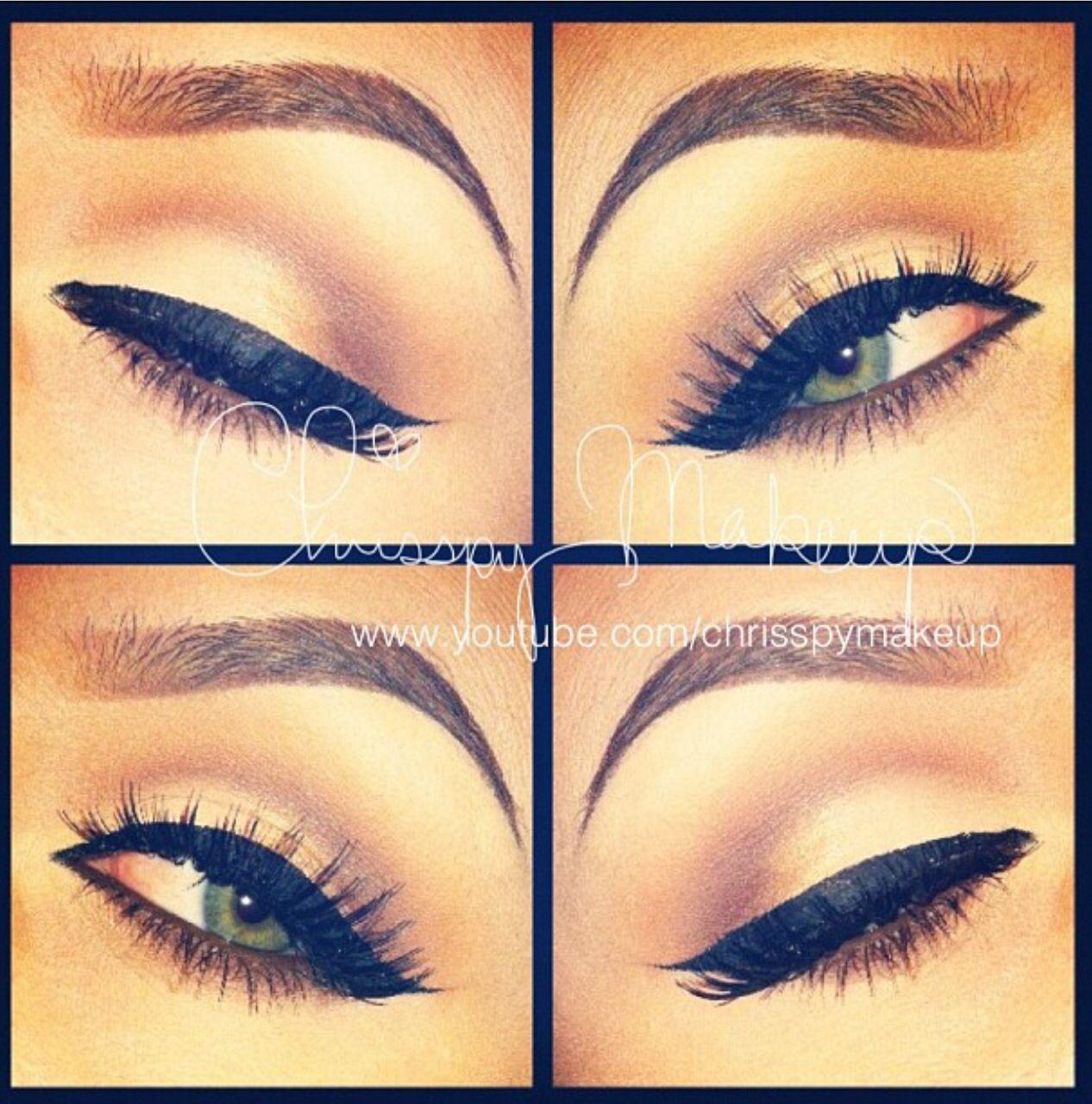 Simple eyeliner makeup   Beauty- hair, nails & makeup ...