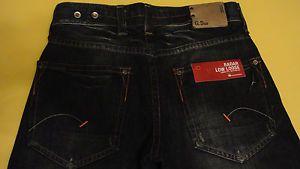 75$ Men G Star Raw 3301 Radar Low Loose Jeans Pants W30 L34