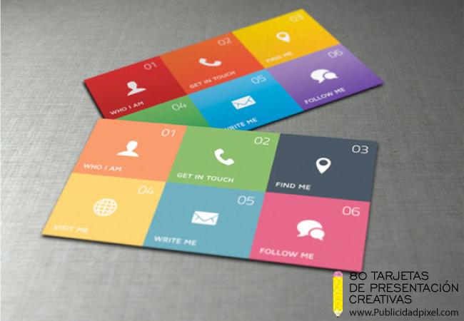 021b2ebf154f9 ejemplos de tarjetas de presentacion para diseñadores graficos ...