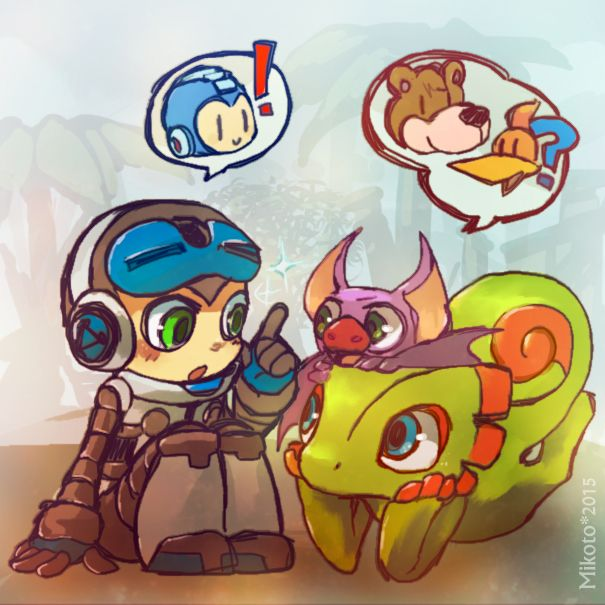NewGen - Mighty No 9 + Yooka Loylee by Mikoto-chan.deviantart.com on @DeviantArt