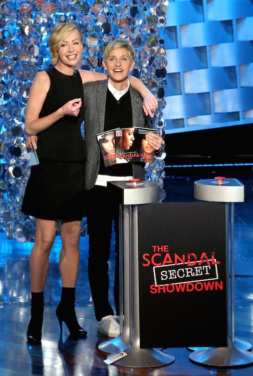 The Scandal Secret Showdown Ellen Portia Portia De Rossi The