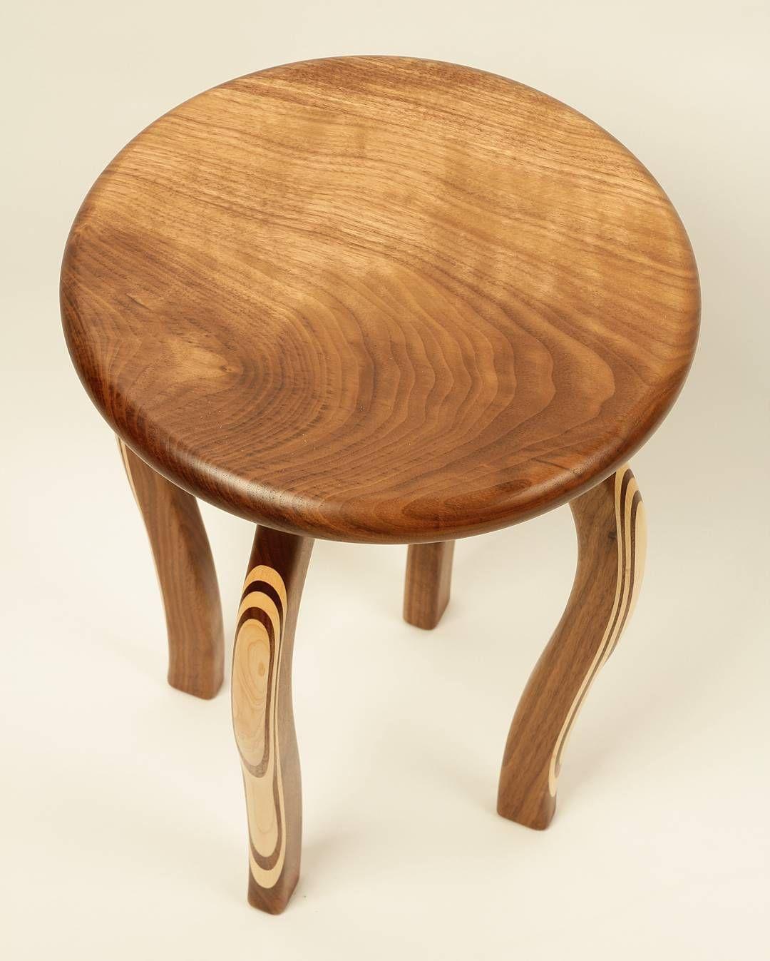 Stool 만들기 #호두나무 #단풍나무 #walnut #maple #woodworking by woodpluswood