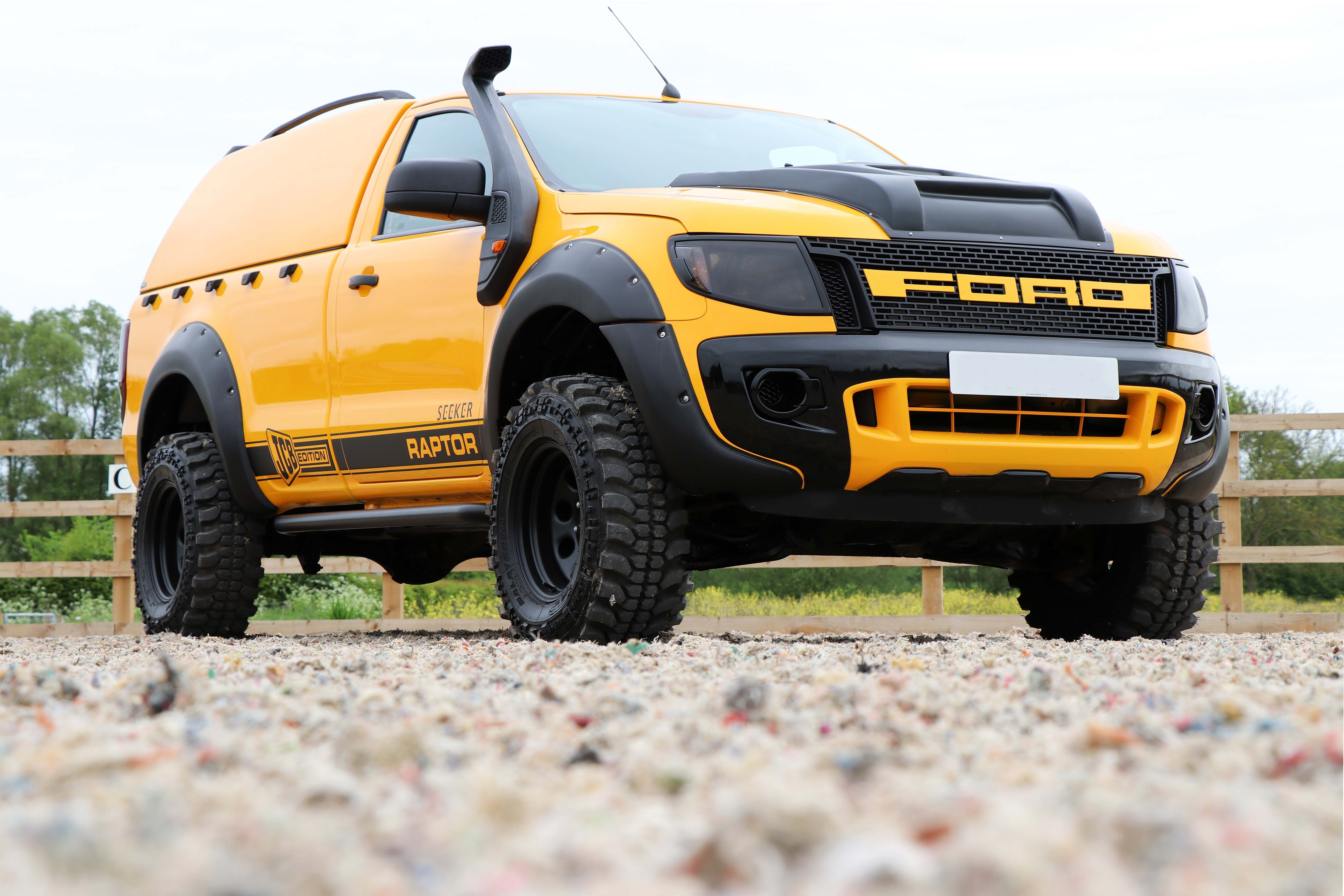 Seeker Raptor Digger Yellow Edition Launched Ford Ranger Ford