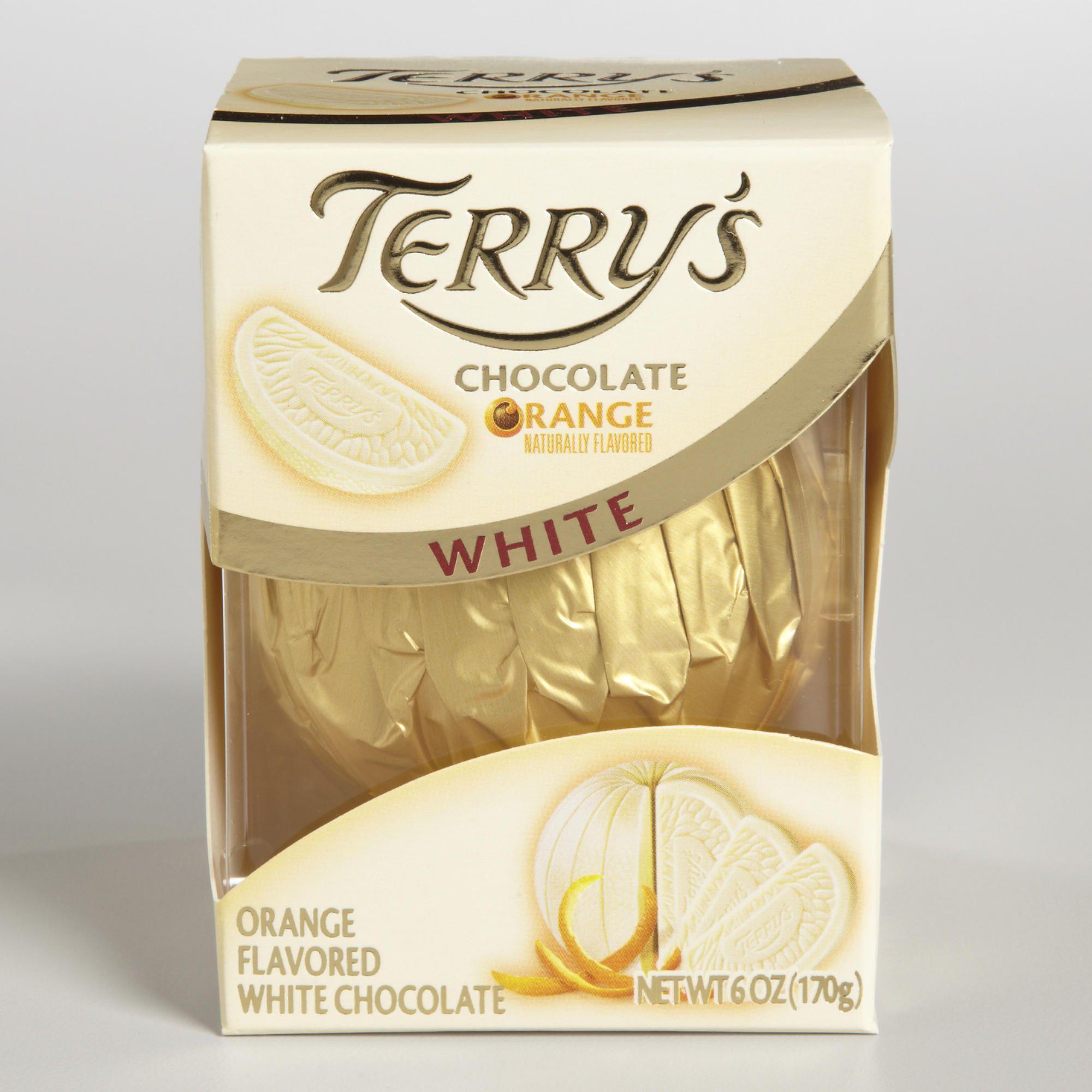 Terrys Chocolate Orange Terrys White Chocolate Orange
