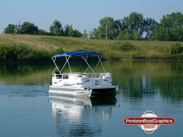 Pontoonboatgraphicsvinyldecalsboatname Pontoon Boating - Custom pontoon decals