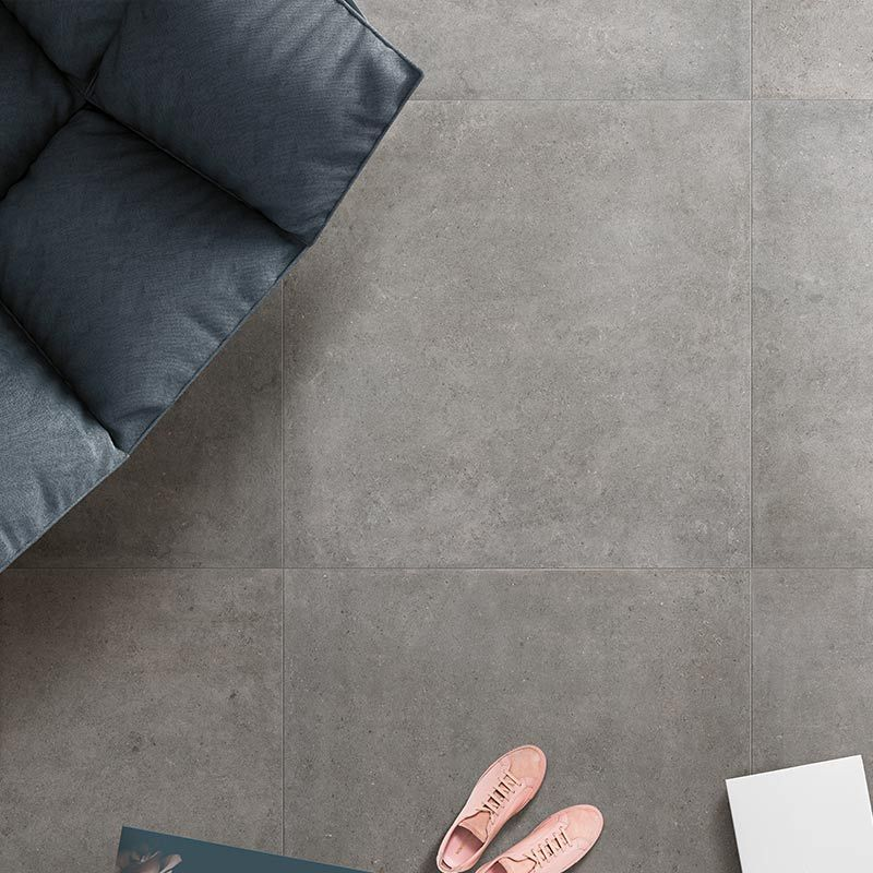 Cer Square Grey In 120 x 120 cm Bodenfliese