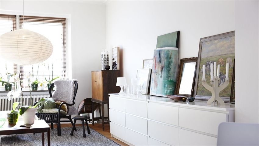 A Dresser Doesnt Have To Be Confined The Bedroom MALM Can Serve