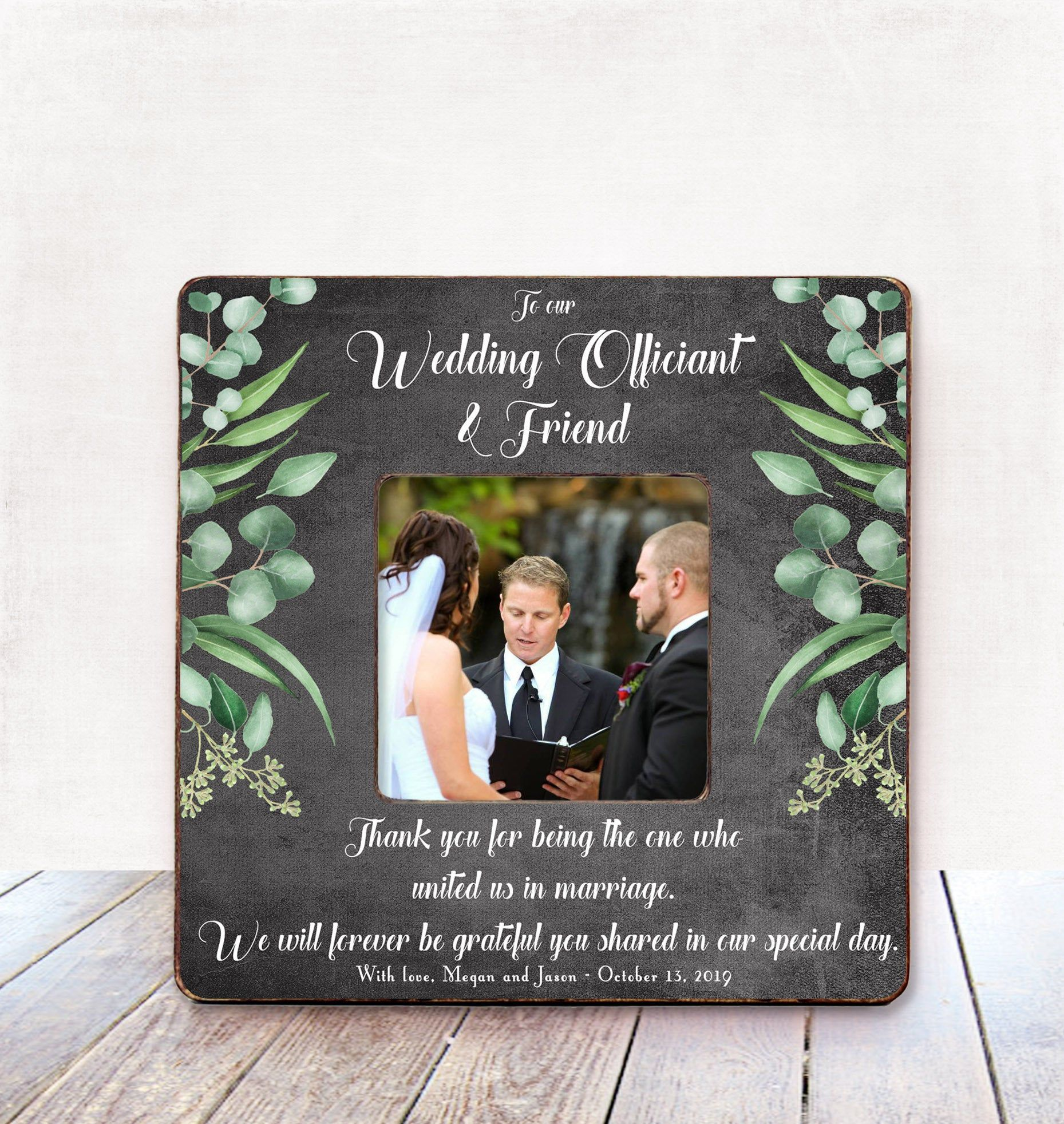 Wedding OFFICIANT Gift for Wedding Officiant Thank You