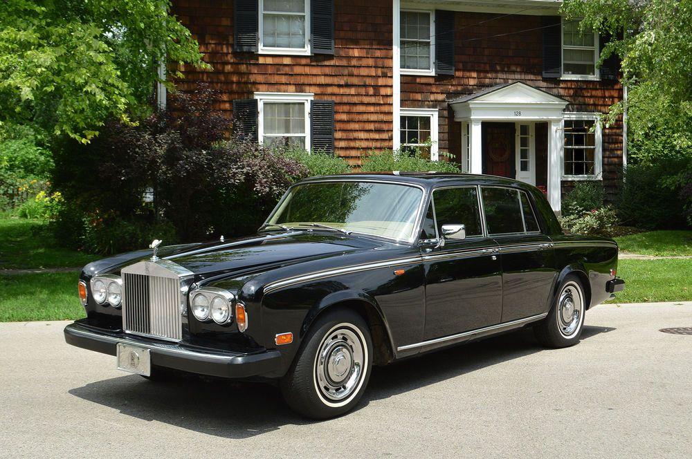 Rolls-Royce : Silver Shadow - II : 4 door sedan   Rolls royce silver