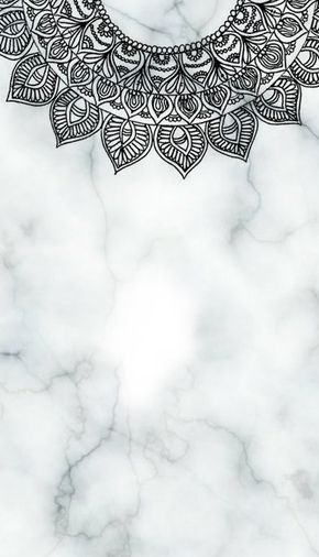 Minimal Marble Lockscreen Homescreens Iphone Wallpaper Mandala