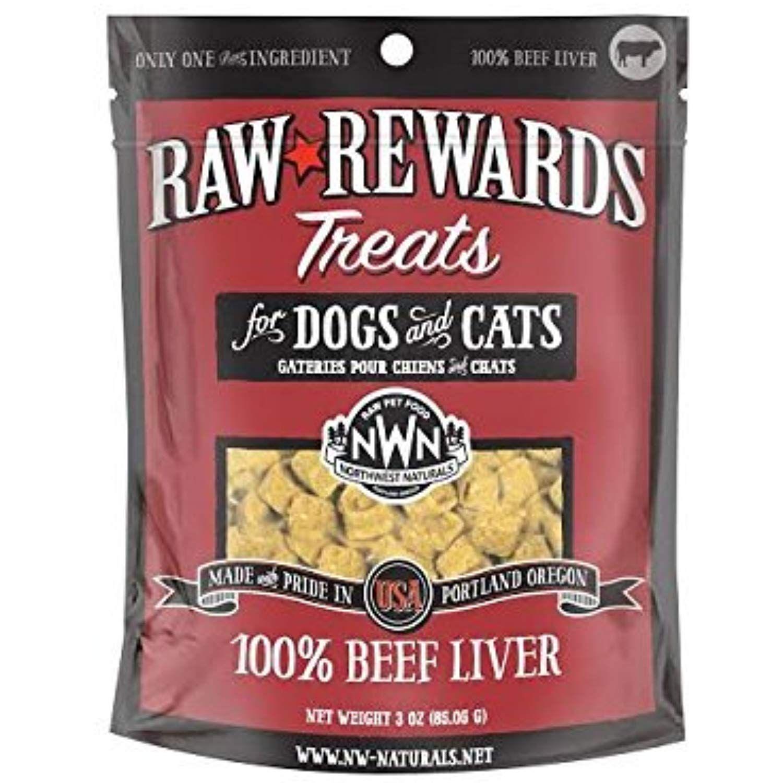 Northwest Naturals Raw Rewards Freeze Dried Liver Treats