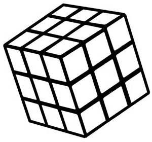 Black And White Rubix Cube Bing Images Rubiks Cube Pumpkin Stencil Art Cube