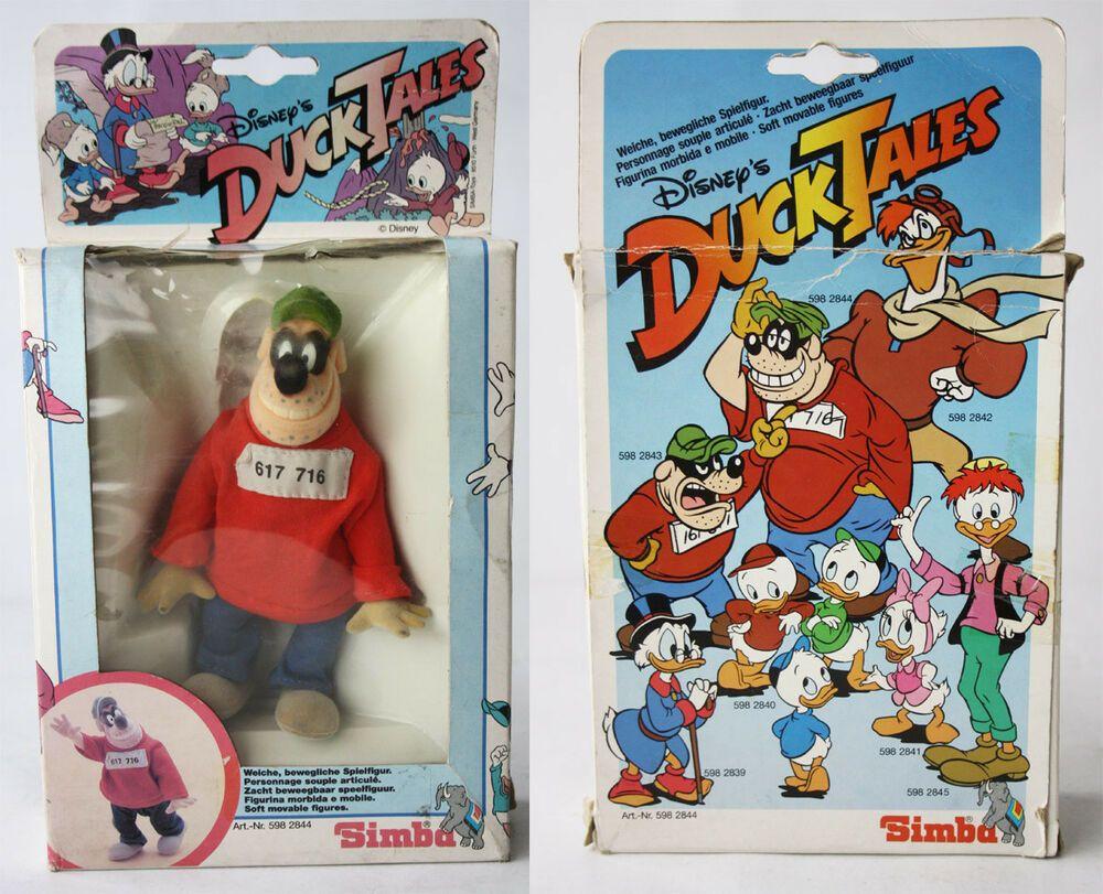 Details About Rare Vintage 80 S Beagle Boy Figure Ducktales Simba