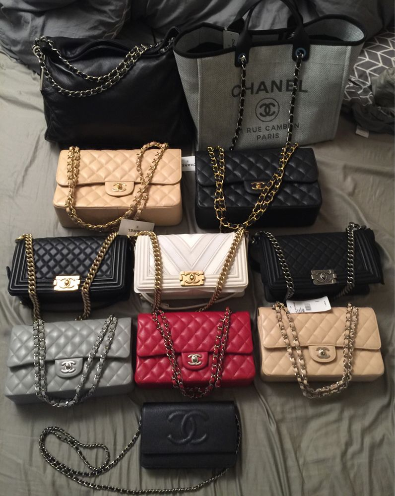 5c741f56539 One Big Happy Family  Check Out Our PurseForum Members  Epic Chanel Family  Bag Portraits