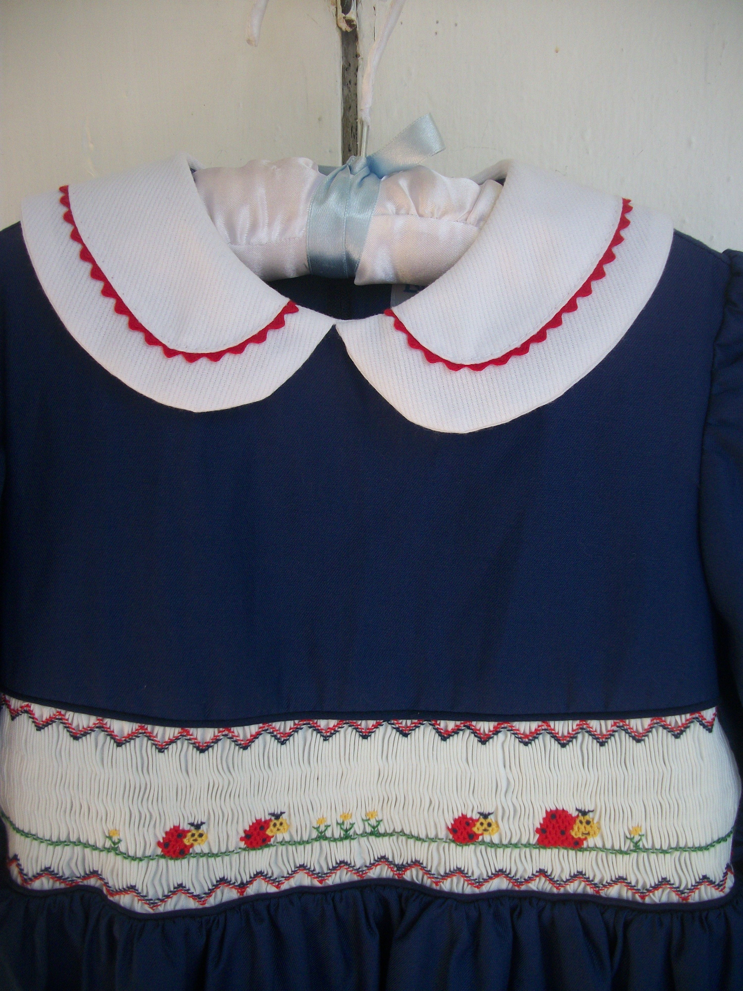 ADORABLE LULI & ME FANCY NAVY BLUE DRESS LADYBUGS SPECIAL OCCASION PHOTOS ~ SIZE 6 http://cgi.ebay.com/ws/eBayISAPI.dll?ViewItem&item=121183131290