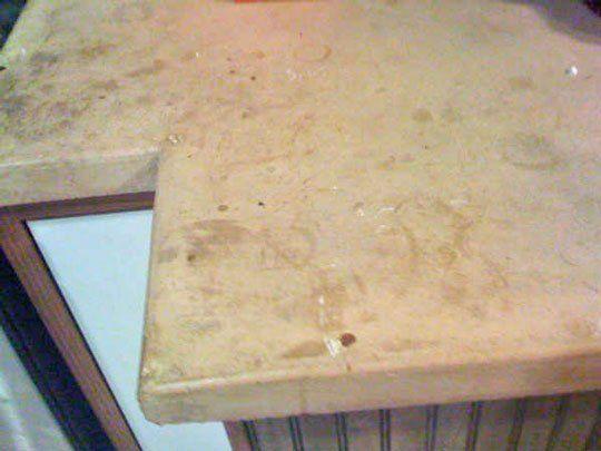 Good Questions: Repairing A Concrete Countertop?