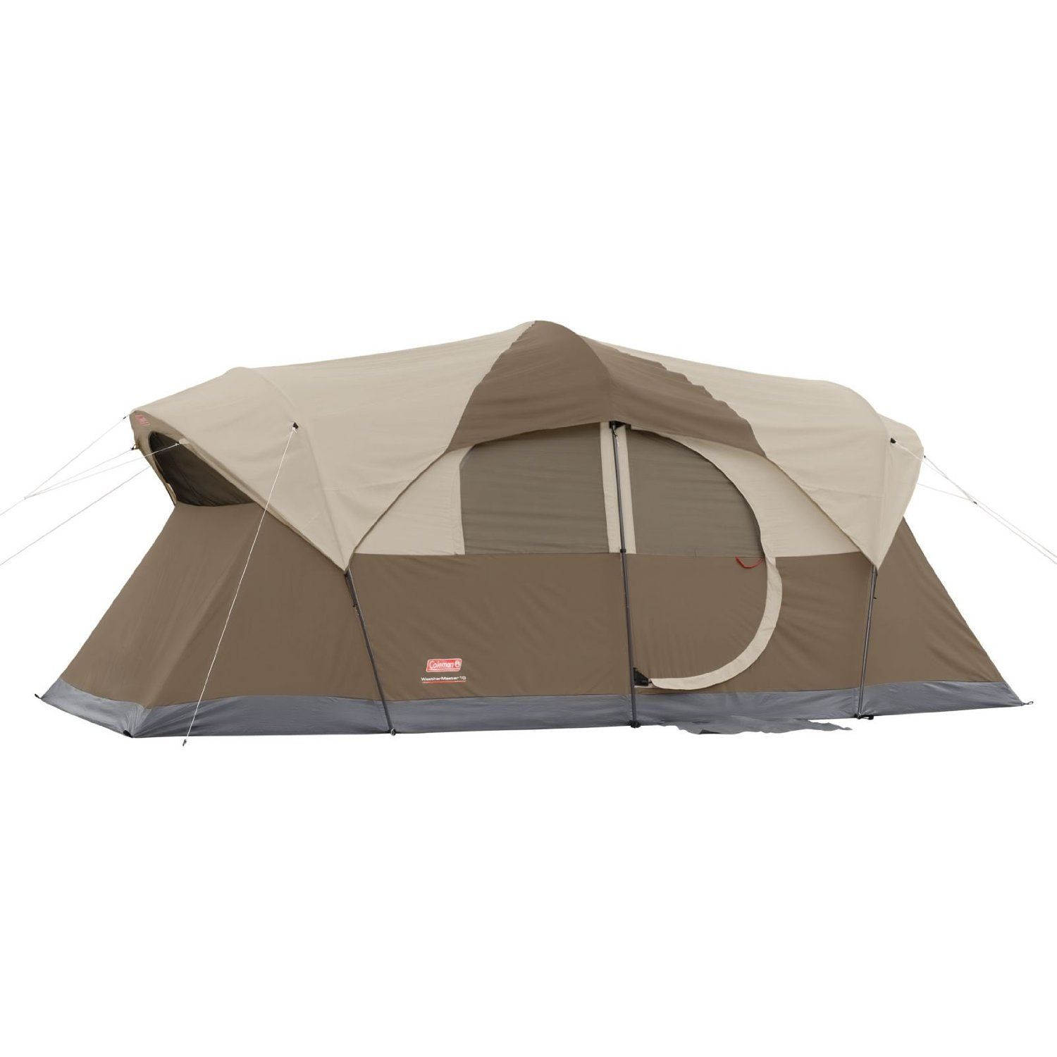 Check Out The Coleman Weathermaster 10 Person Hinged Door Tent Reviewed On Digimancave This Coleman 10 Pe 10 Person Tent Best Tents For Camping Coleman Tent