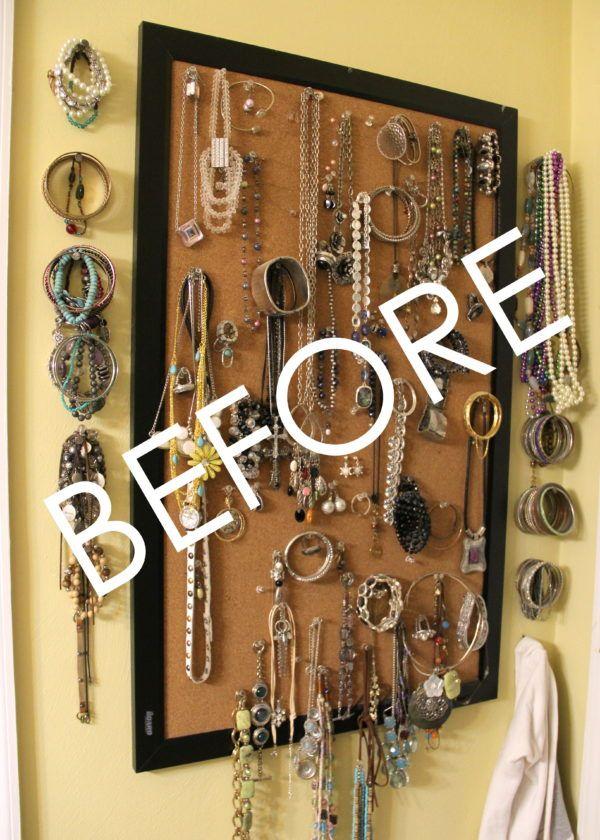 Diy Jewelry Organizer Storage Ideas Jewelry Organizer Storage