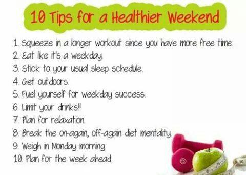 Healty weekend