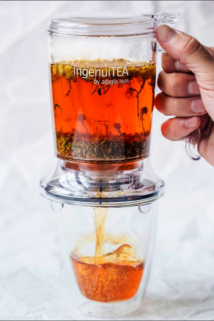 Ingenuitea Teapot From Adagio Teas Tea Pots Tea Recipes Iced Tea Recipes