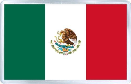Acrylic Fridge Magnet Mexico Flag Of Mexico Mexico Flag Mexico Country Mexico History