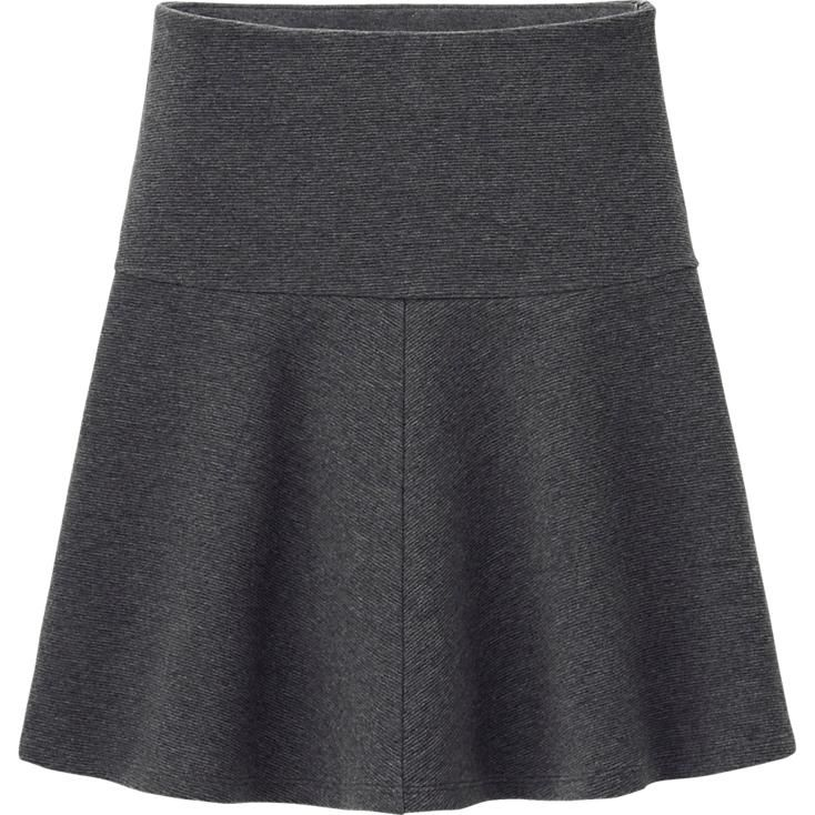 WOMEN RIPPLE FLARE SKIRT