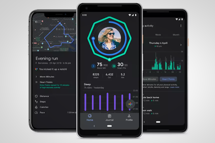 Google Fit adds a dark theme and new sleep tracking