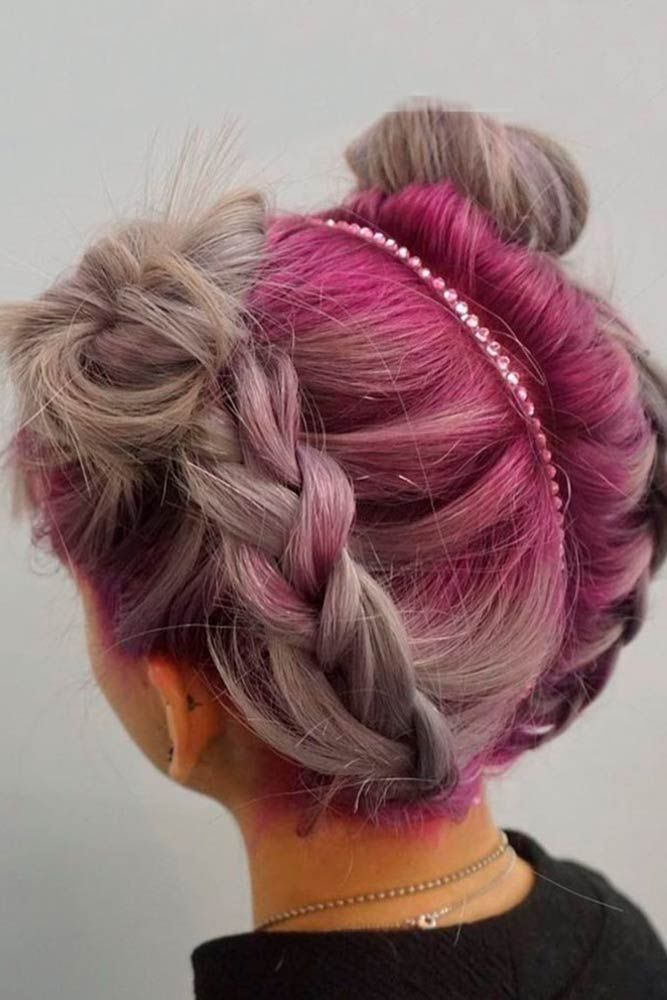15 Cute Braided Hairstyles For Short Hair Lovehairstyles Com Braids For Short Hair Hair Styles Rave Hair