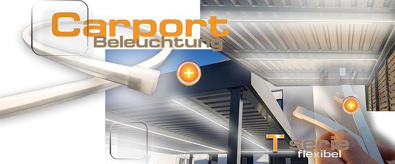 Carport Led Schlauch 5m 135 98 Garage Beleuchtung Led Lichterschlauch Carport Modern
