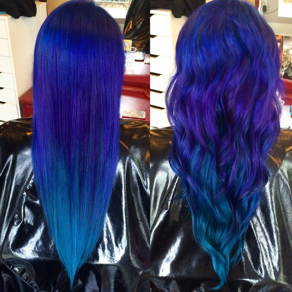 Peacock Color Melt Hair Hair Color Melting Hair Color