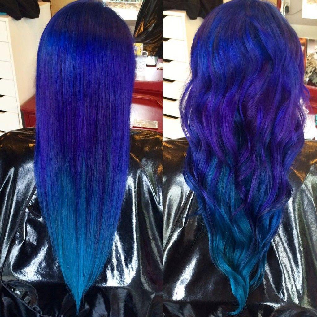 Peacock Color Melt Unnatural Hair Color Hair Color Crazy Vivid