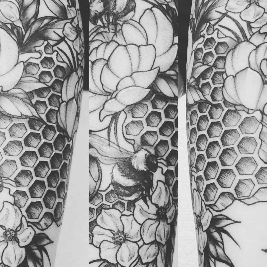 A finally healed photi of my newest addition! #tattoos #tattoosleeve
