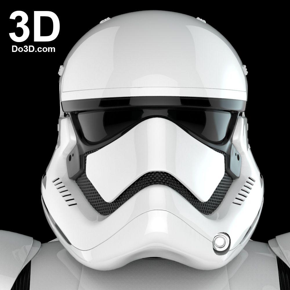 3D Printable Model of Stormtrooper First Order Costume Armor