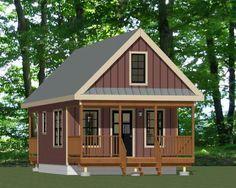 16x20 Tiny House -- #16X20H12 -- 624 sq ft - Excellent Floor