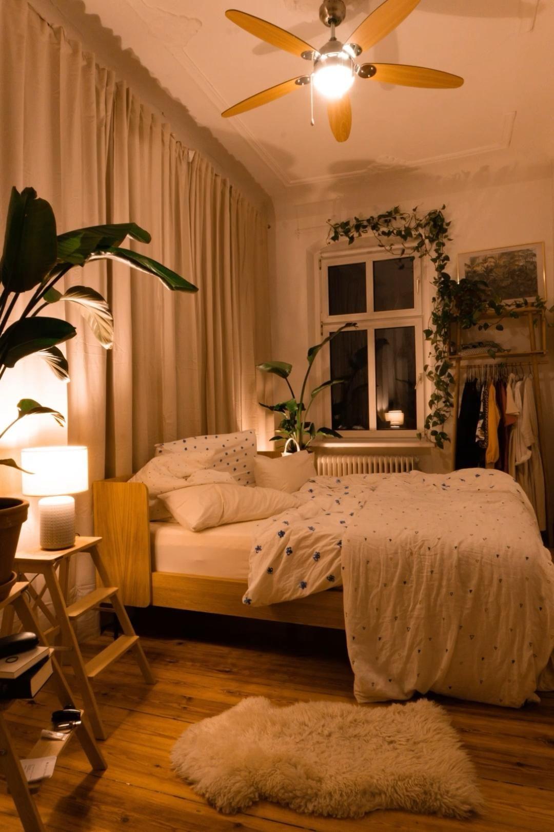 Einfaches Schlafzimmer-Makeover
