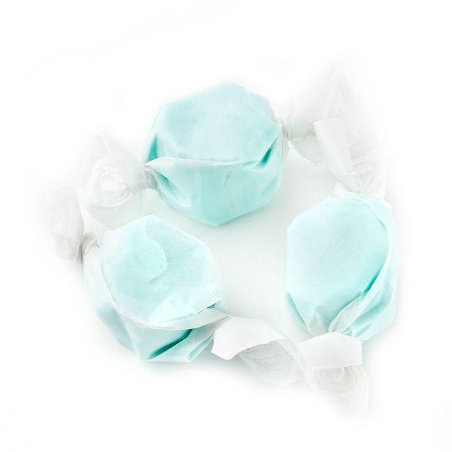 Light Blue Salt Water Taffy Cotton Candy Cotton Candy Flavoring Taffy Taffy Candy
