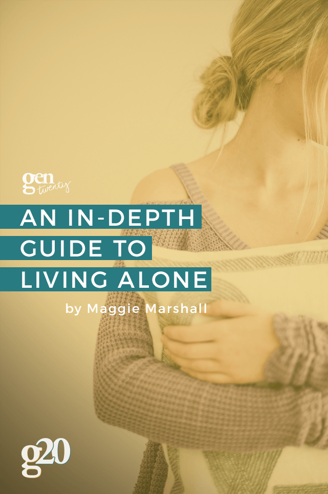 An In Depth Guide To Living Alone Plus A Checklist Living Alone Living Alone Tips Live