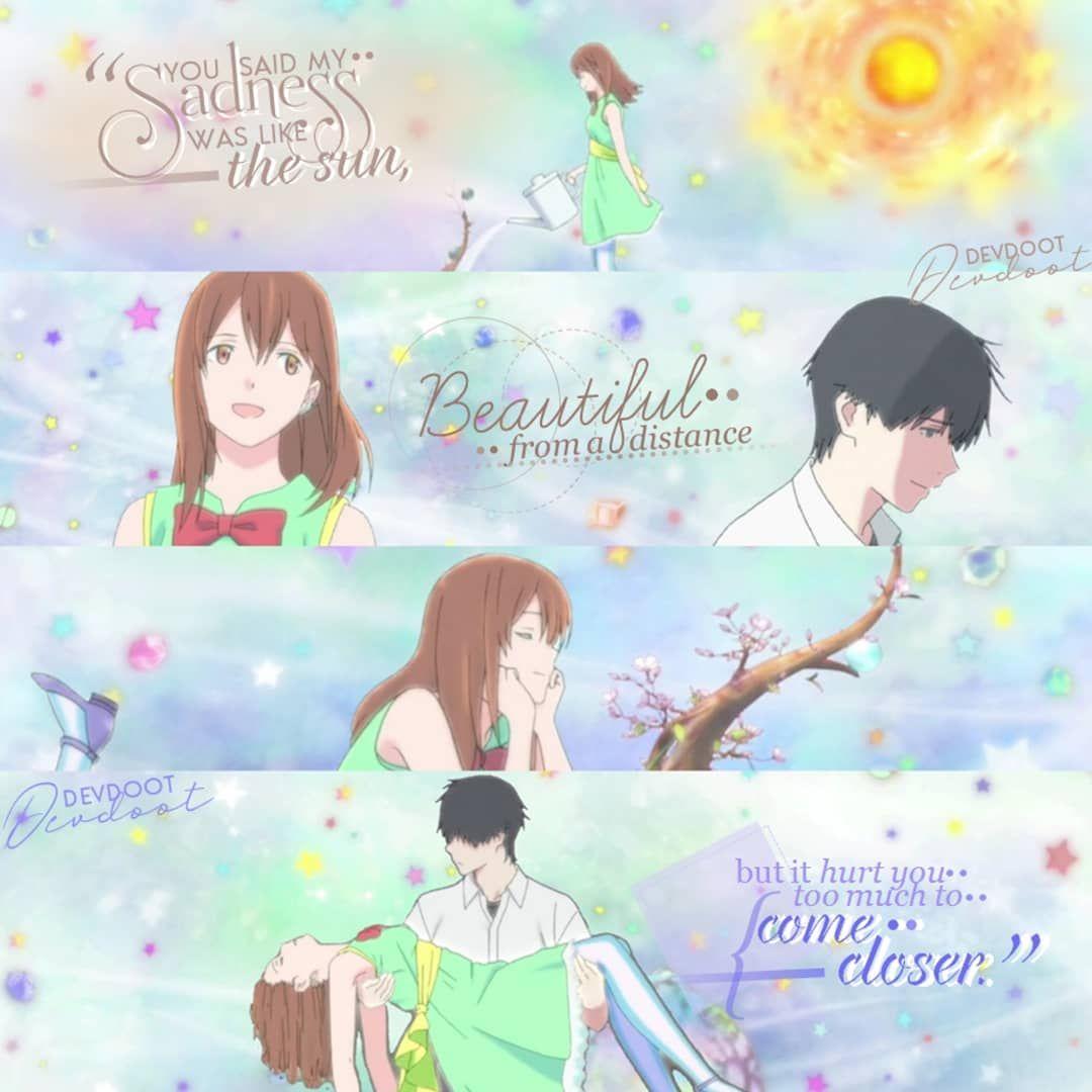 Anime Movie I Want To Eat Your Pancreas Quote You Said My Sadness Was Like The Sun Beautiful From A Dista Anime Films I Want To Eat Your Pancreas Anime