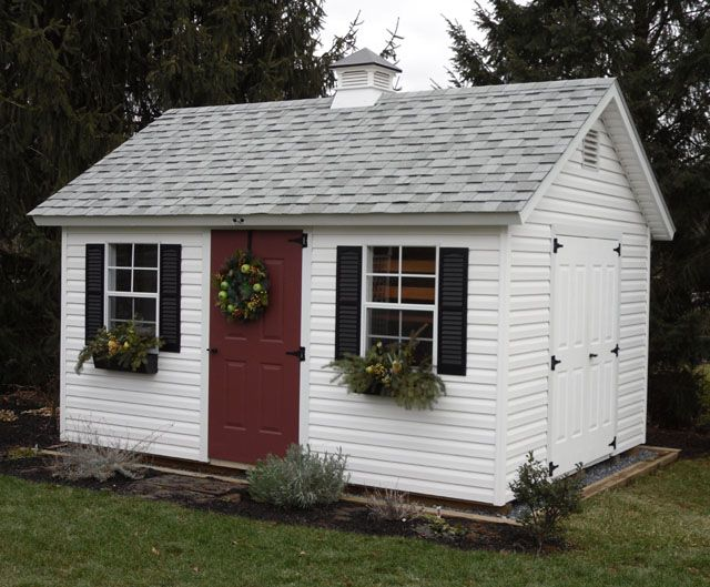 Amish Built Garages Garden Sheds Utility Buildings Small Barns In Lancaster