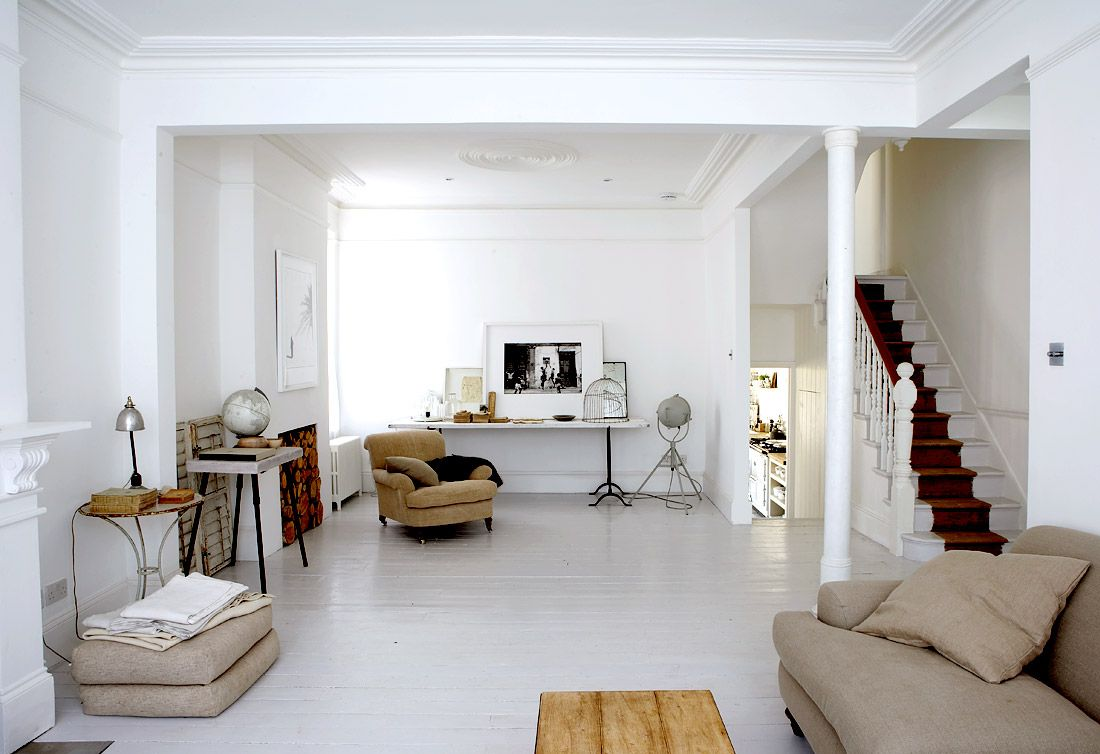 I could live in this house, but it\'s a little too white | living ...