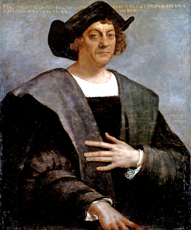 The Man Himself A Big Thank You For Finding This Great Land Columbusday Murdermysteryparty Ne Christopher Columbus Christopher Columbus Biography Columbus