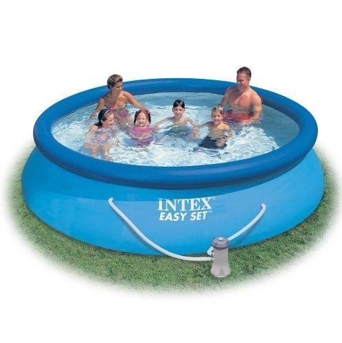 Intex Easy Set Round Pool Set 12 X 30 Easy Set Pool Set With
