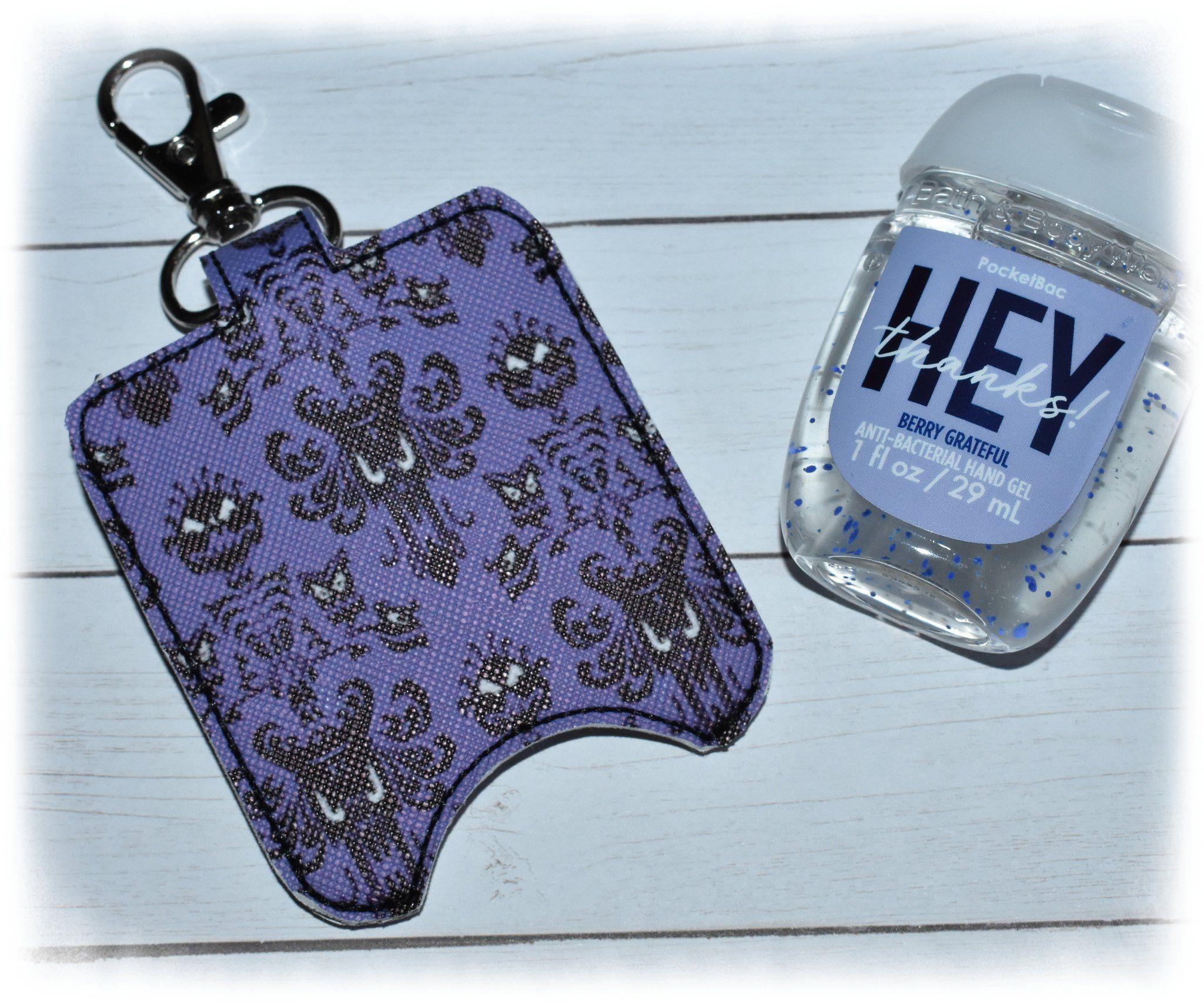 Hand Sanitizer Holder Pocketbac Holder Sanitizer Key Fob Snap
