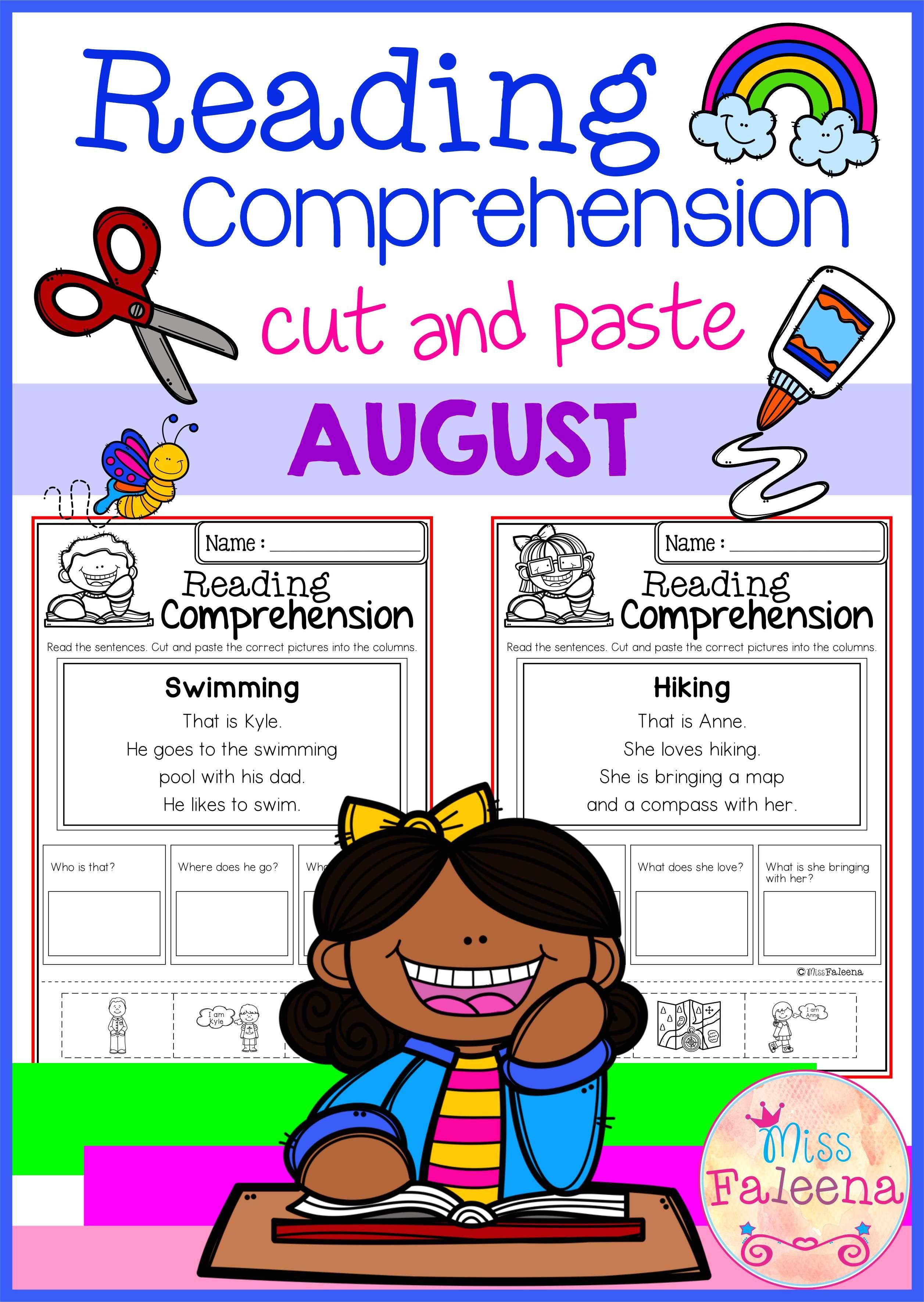 Reading Comprehension Worksheet For Special Needs
