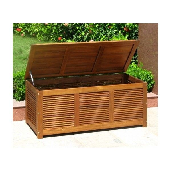 Baule in legno salemi 55x130x50 acacia oliata art lgl for Cassapanca legno ikea