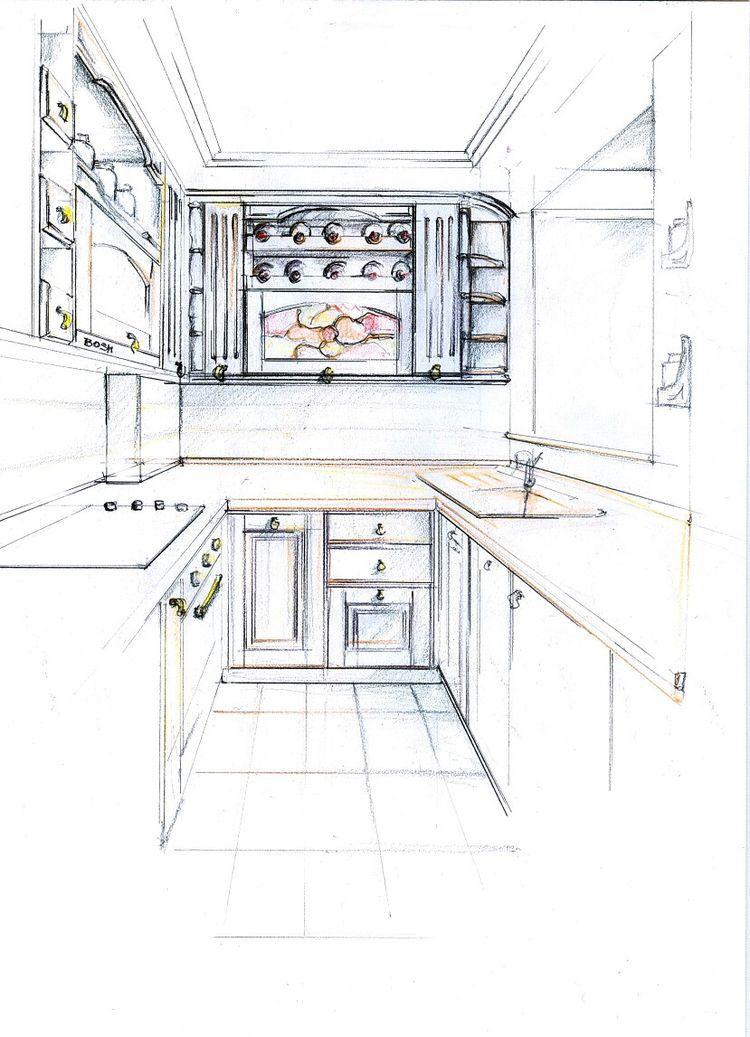 Pin by Tarun Shukla on Fashion sketches in 2019 | Kitchen design